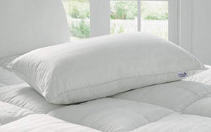 "Kuber Industries Luxurious 1 Piece Microfibre Pillow Filler - 16""x24"", White - CTKTC22178"