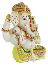 Load image into Gallery viewer, Ganesha Idol Sculpture Statue Figurine Ganesh Murti - Home Decor Lo