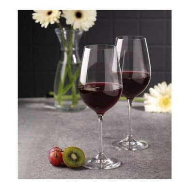 Ash & Roh® red and White Wine Glass Big Wine for Beverage Party Glass Pack of 6