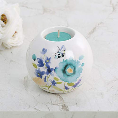 Home Centre Splendid Floral Decal T-Light Holder