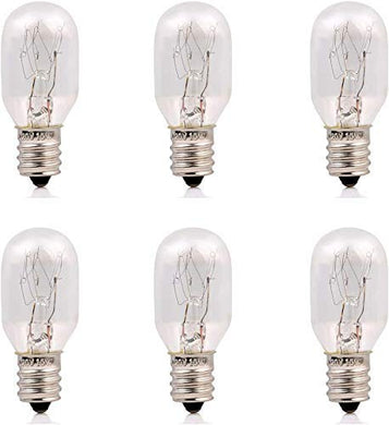 THE CRAFT HOUSE Whirlpool E-14 Long Lasting Incandescent Salt Lamp Bulbs (10 Watt) - Pack of 6
