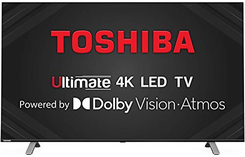 Toshiba 108 cm (43 inches) Vidaa OS Series 4K Ultra HD Smart LED TV 43U5050 (Black) (2020 Model) | With Dolby Vision and ATMOS