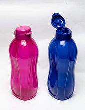 Load image into Gallery viewer, Tupperware Aquasafe Eco Plastic Bottle, 2L, Set of 2, Purple