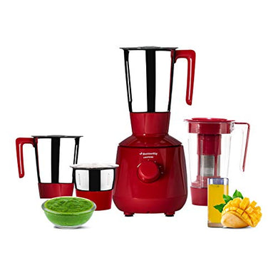 Butterfly Lightning Mixer Grinder, 750W, 4 Jars (Red)