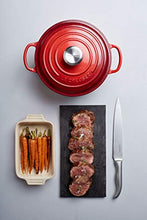 Load image into Gallery viewer, LE CREUSET Signature Cerise Cast Iron Shallow Casserole, 26 cm