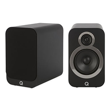Q ACOUSTICS 3020I Bookshelf Speakers - Pair - Carbon Black