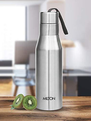 Milton Super 1000 Single Wall Stainless Steel Bottle, 1000 ml, Silver