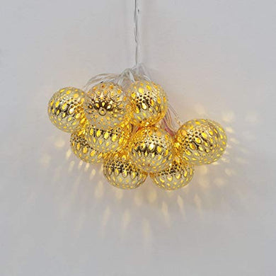 Home Centre Serena Floral String Light- 10 Bulbs- Large