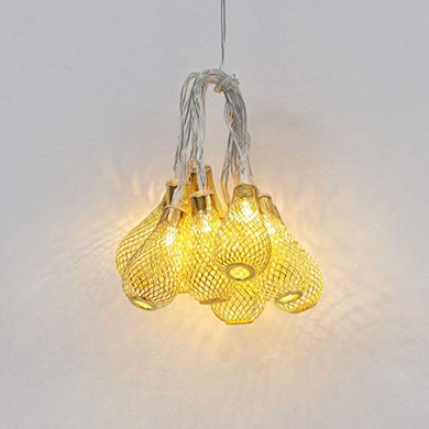 Home Centre Serena Glitz Bulb String Light- Set of 10 Pcs.
