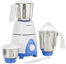 Load image into Gallery viewer, AmazonBasics Premium 750-Watt Mixer Grinder with 3 Jars