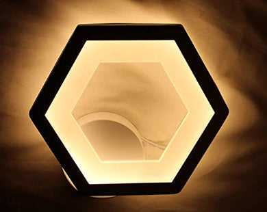 Imper!al Hexagon Shaped Led Wall Lamp Led Wall Light Lamp for Wall Led Wall Scone