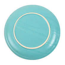 Load image into Gallery viewer, Chumbak Spotted Sky Dinner Plate - Teal (Blue)