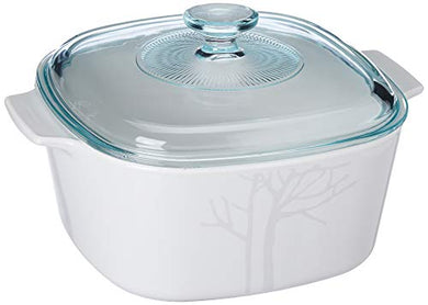 Corningware-3L Covered Casserole-Frost-GS