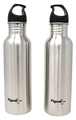 Pigeon Stainless Steel Water Bottle, 750ml (Set of 2)