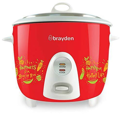 Brayden Rizo 1.5 L Rice Cooker, Crimson Red