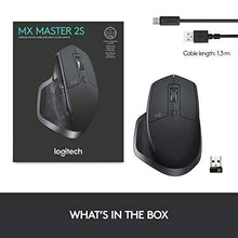 Load image into Gallery viewer, Logitech MX Master 2S Wireless Mouse with FLOW Cross-Computer Control and File Sharing for PC and Mac - Home Decor Lo