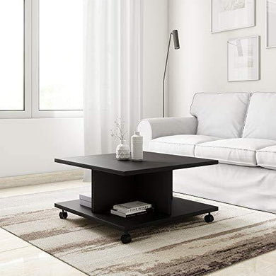 Amazon Brand - Solimo Angel Engineered Wood Coffee Table (Espresso Finish) - Home Decor Lo