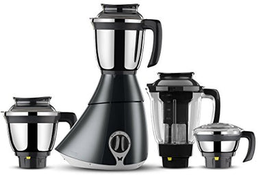 Butterfly Matchless 750-Watt Mixer Grinder with 4 Jars (Grey and White)