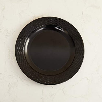 Home Centre Meadows Urbannature Dinner Plate - Black