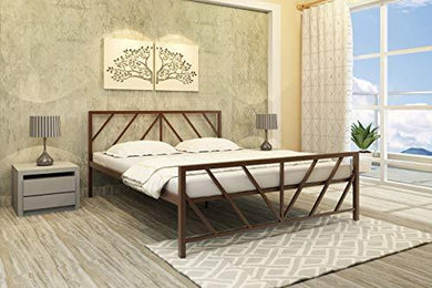 Homdec Ara Metal Queen Bed