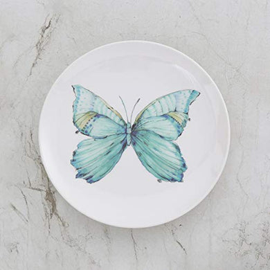 Home Centre Mandarin Butterfly Print Side Plate