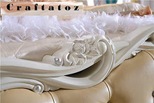 Load image into Gallery viewer, Craftatoz Royal Teak Wood Bed Bedroom Furniture - Home Decor Lo