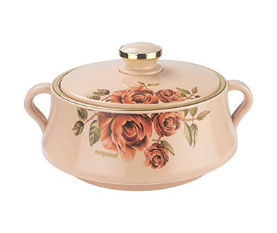 Nayasa Lorenzo Insulated Casserole 2000 ml Beige Color