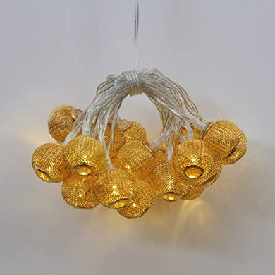 Home Centre Serena Mesh Ball String Light with Adapter