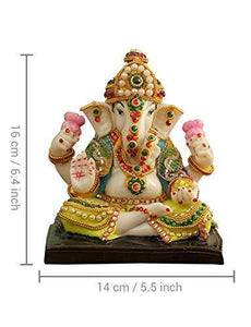 Ganesh Idol Murti Statue Figurine Showpiece - Home Decor Lo