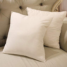Load image into Gallery viewer, JDX Hotel Microfiber Cushion (16X16 Inches Set of 5, White)