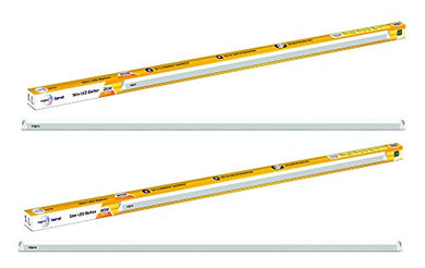 Wipro Polycarbonate Garnet 20-Watt Slim Led Batten (Pack Of 2, White)