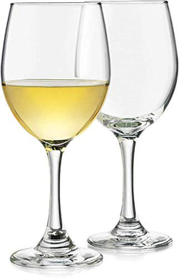 Ginoya Brothers Elegant Wine Glasses Set for Kitchen & Restaurant & Party 170 ml - Set of 2 (Brandy)