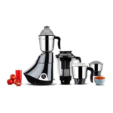 Butterfly Smart Mixer Grinder, 750W, 4 Jars (Grey)