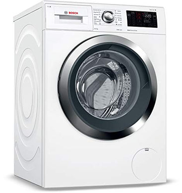 Bosch 9 kg Inverter Fully-Automatic Front Loading Washing Machine (WAT28661IN, White, Inbuilt Heater)