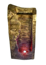 Load image into Gallery viewer, Waahkart Home Decor Buddha Side Face Fountain with 36 LED Light - Home Decor Lo
