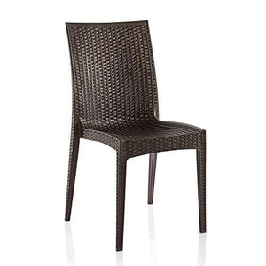 Varmora Designer Club Chair Set of 2 (Brown) - Home Decor Lo