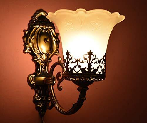 DarkVision Black Antique Designer Imported Wall Ceiling Light Lamp Sconce for Dining Room, Bedroom, Living Room Decor - Home Decor Lo