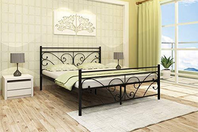 Homdec Auriga Metal Queen Bed