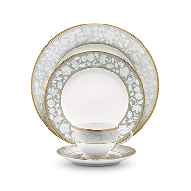 Noritake Japan Hearth Collection Peach Valley Kitchen and Dining Dinnerware Serving Dinner Set, 18 Pieces, Service for 6