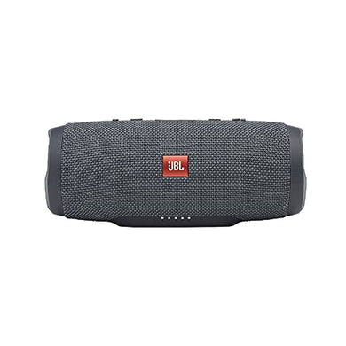 JBL Charge Essential 20W IPX7 Waterproof Portable Bluetooth Speaker with 20 Hours Playtime & Built-in 6000 mAh Powerbank (Without Mic, Gun Metal)