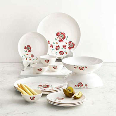 Home Centre Shalimar-Stanton 14-Pc. Floral Print Dinner Set