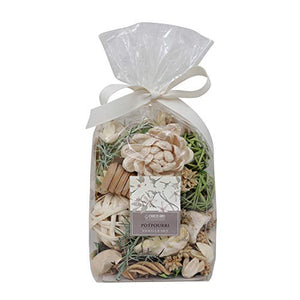 Deco aro Vanilla Fragranced Potpourri - 200 GMS Pouch Naturally Dried Mixture