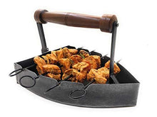 Load image into Gallery viewer, Ek Do Dhai Oldcharm BBQ Iron Platter - Home Decor Lo