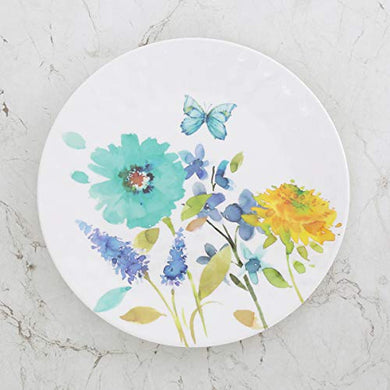 Home Centre Meadows-Madora Floral Print Dinner Plate