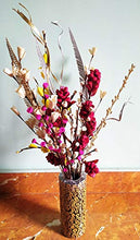 Load image into Gallery viewer, Fab n Style Natural Handmade Dry Pine Flower with Moti Sticks and Palm Leaf