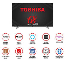 Load image into Gallery viewer, Toshiba 108 cm (43 inches) Vidaa OS Series 4K Ultra HD Smart LED TV 43U5050 (Black) (2020 Model) | With Dolby Vision and ATMOS