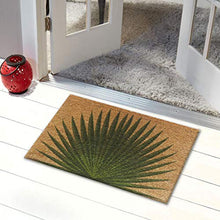 Load image into Gallery viewer, ATMAH Palm Leaf Coir Doormat, Size 40cm x 60cm