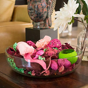 Scentattva.com Rose Potpourri Fragrant Dried Flowers Leaves for Home, Office Decoration (Multicolour, 200 gm)