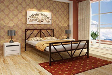 Homdec Ara Metal Double Bed