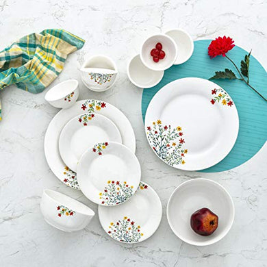 Home Centre Pristine Volga Printed 20-Pc. Dinner Set